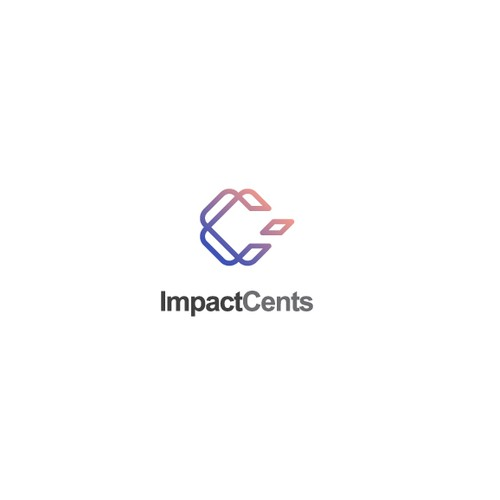 Creative and simple logo for Impact Cents