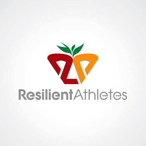 Resilient Athletes logo design