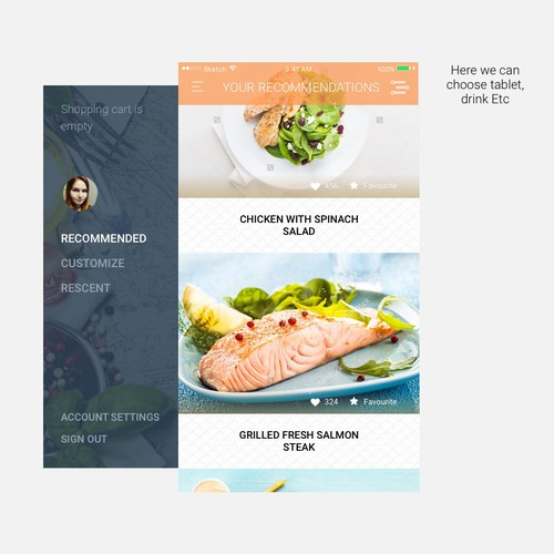 Personalized Recipes