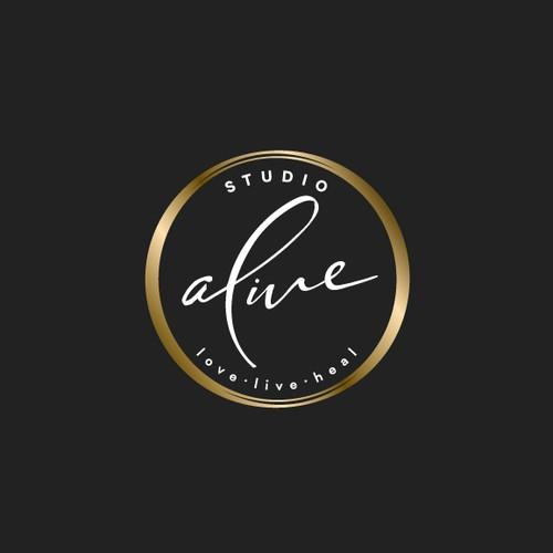 logo for a wellness studio