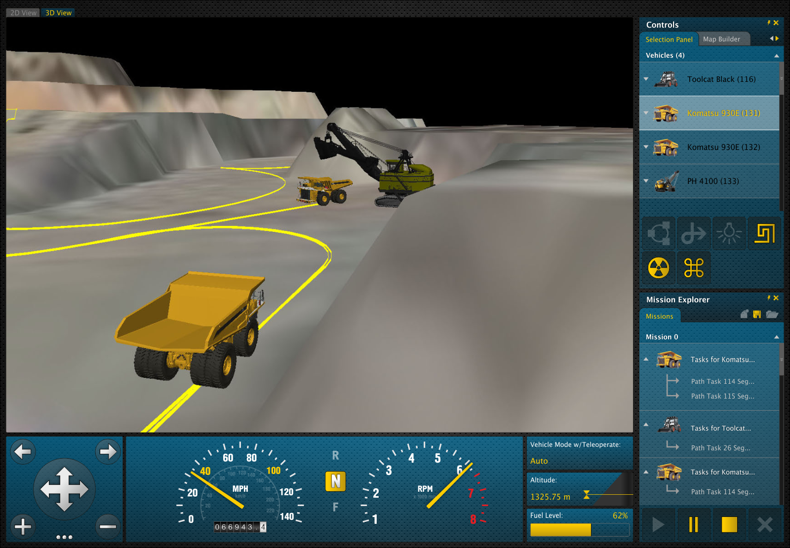 New design wanted for Unmanned Vehicle Systems Control Dashboard