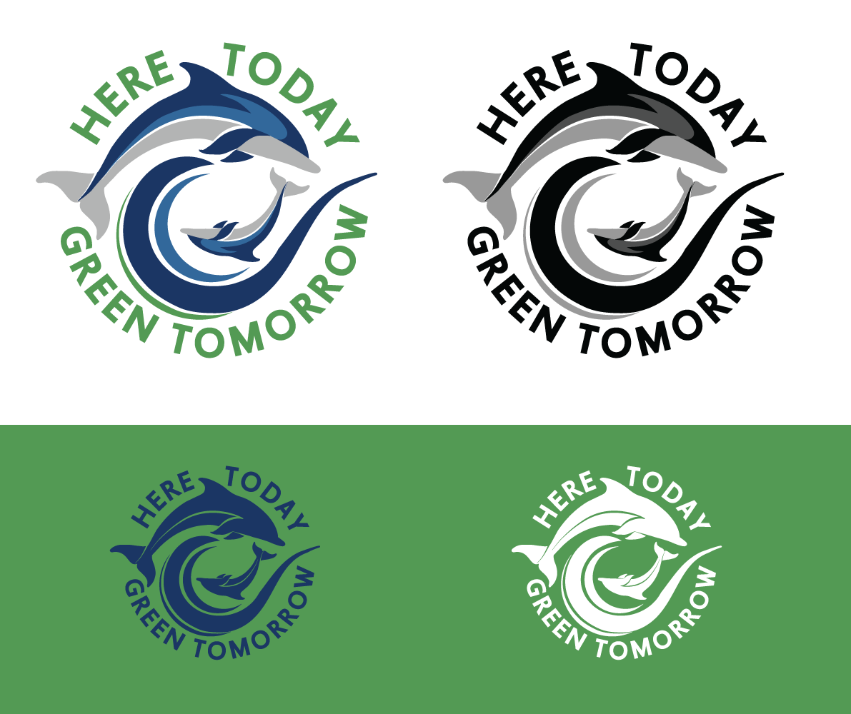 logo for Here Today Green Tomorrow