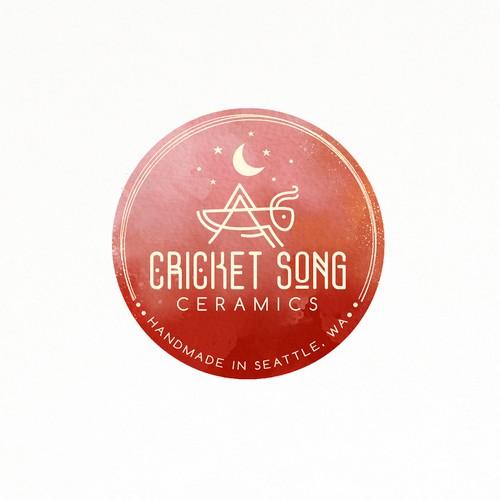 Elegant logo for handmade ceramics store