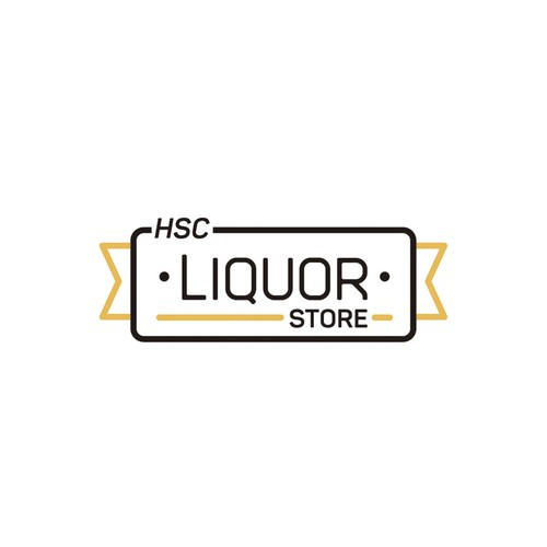 Logo design for HSC Liquor Store