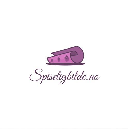 Logo for edible paper webshop