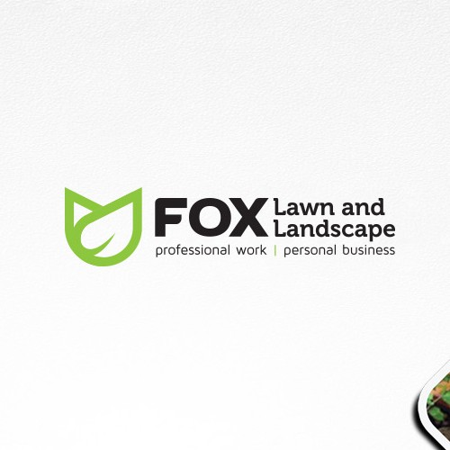 Logo for FOX - A full service lawn and landscape company