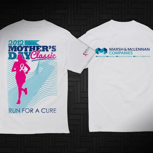 t-shirt design for Marsh & McLennan Companies