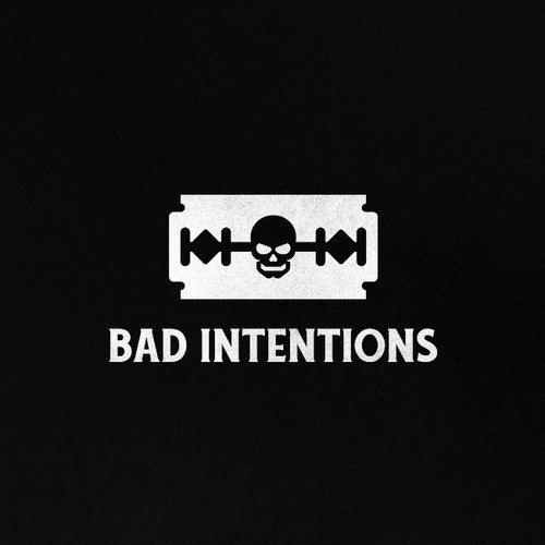 Bad Intentions Logo For Clothing brand
