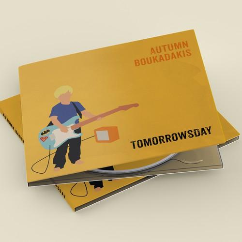 Album Cover Design for Autumn Boukadakis