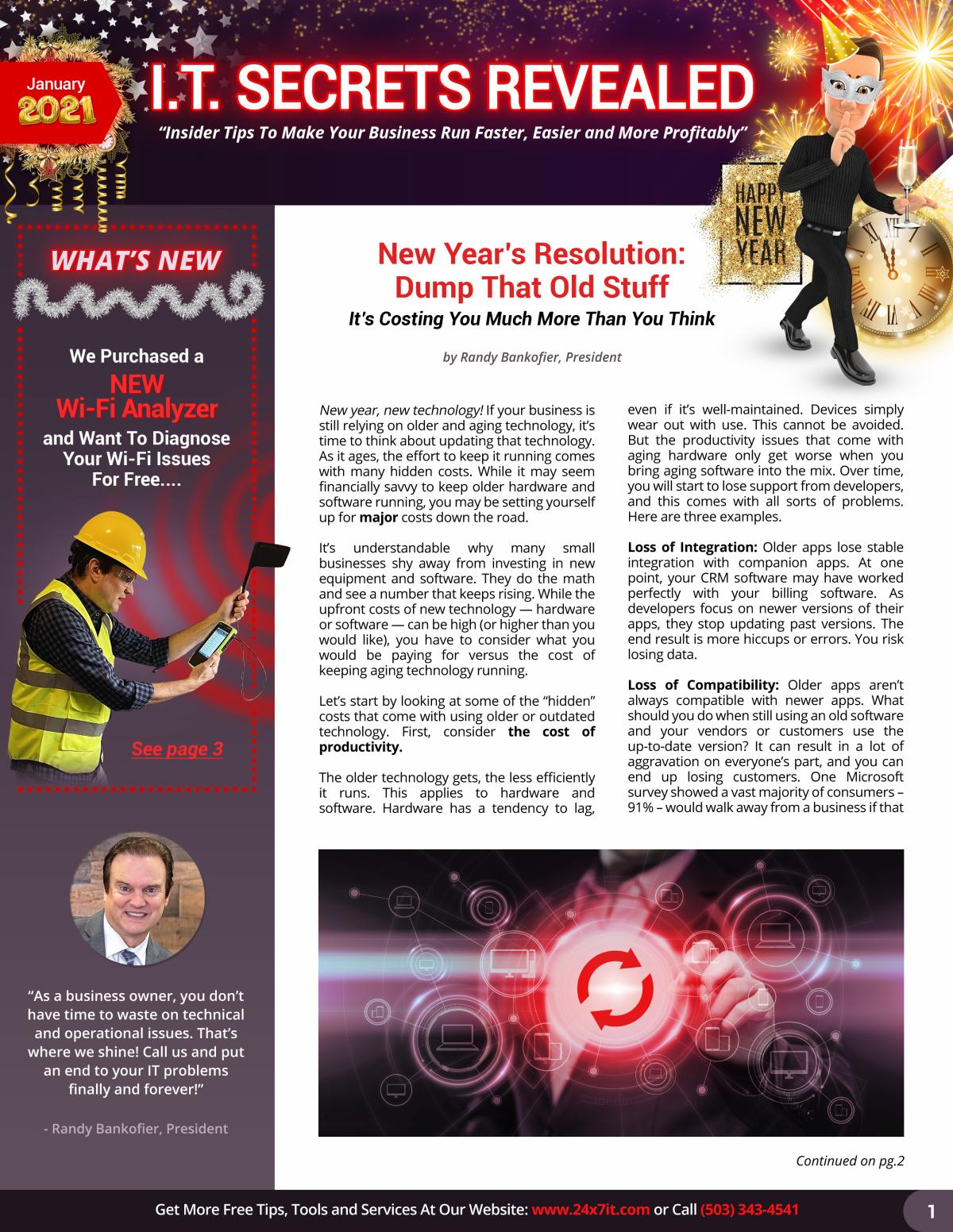 24x7it January Newsletter