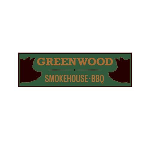 Rebrand of smokehouse bbq restaurant
