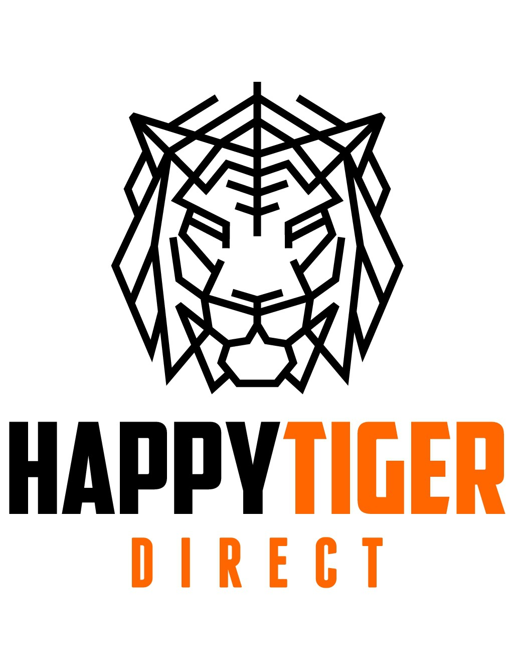 Design a colorful, powerful tiger logo for my business