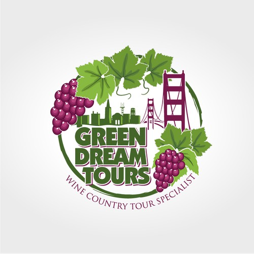 SF - Wine Country Tour Company Seeking New Logo!