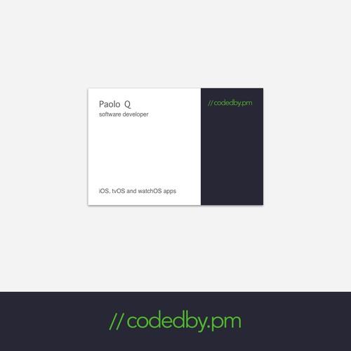 Logo for iOS developer