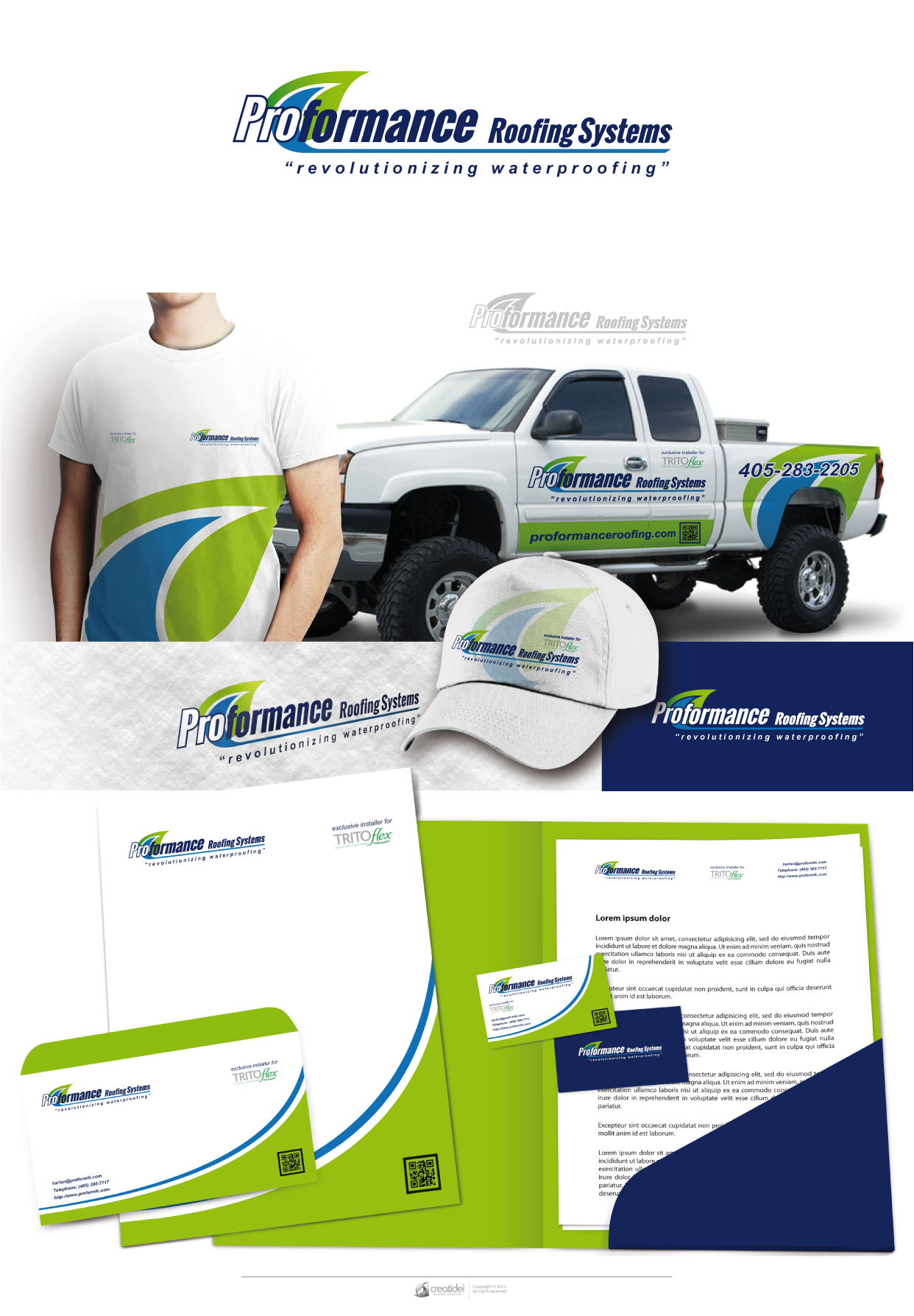 Proformance Roofing Systems needs a new logo