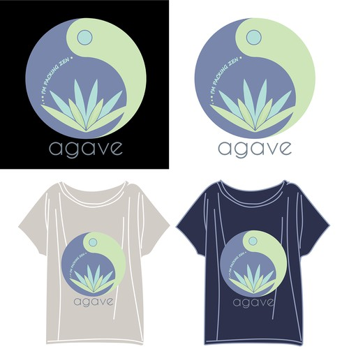 T-shirt design for Yoga Studio