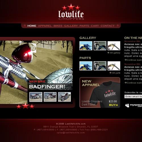 Chopper Website Design Needed