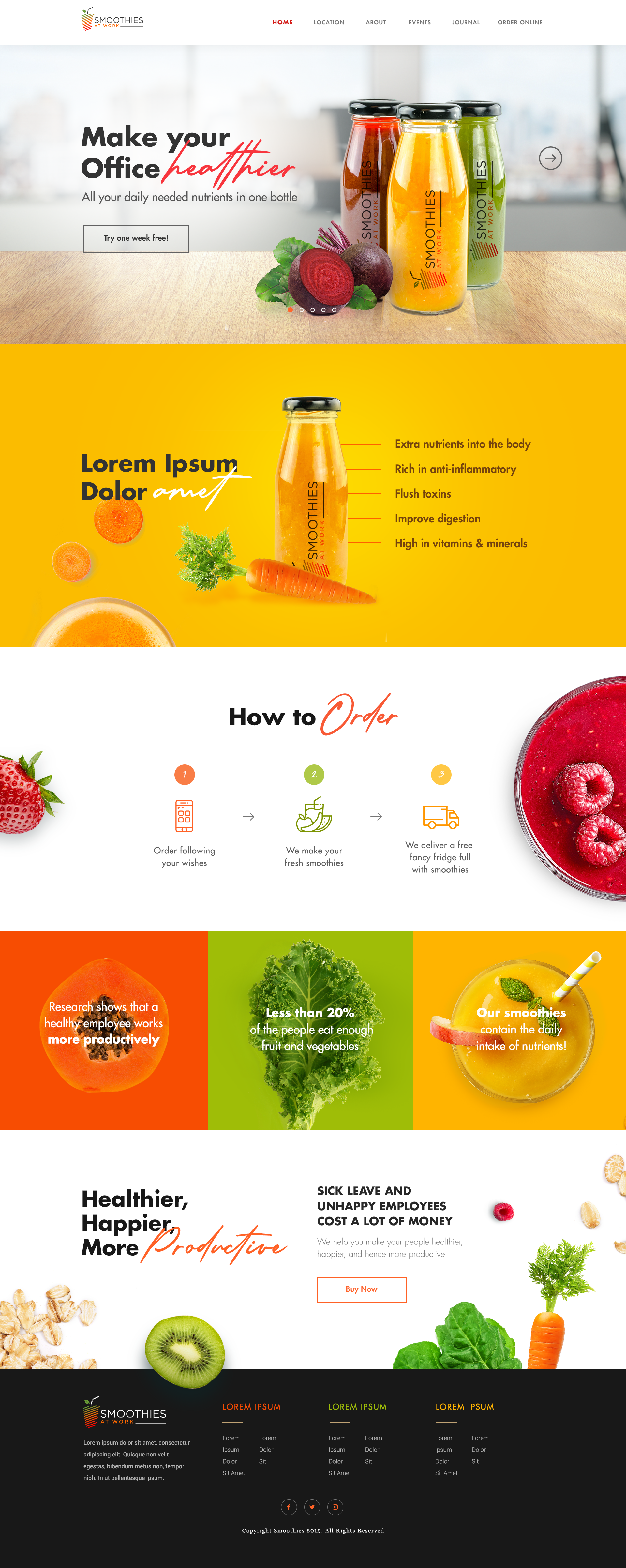 NEW Design needed to rule over Amsterdam with Smoothies