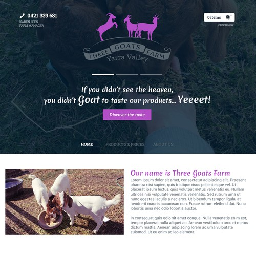 Goat Farm WebDesign