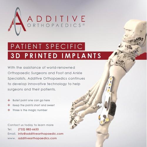 Additive OrthoPaedics Advert