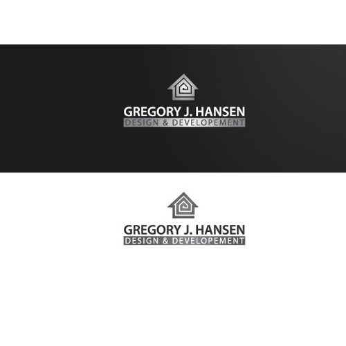 logo for house design and developement