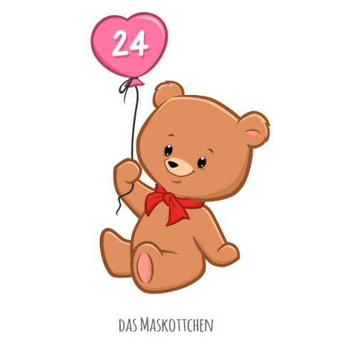 Teddy Bear for Pluschtier 24-Shop