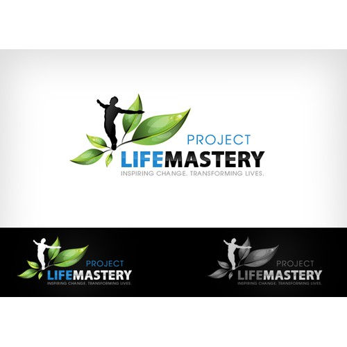Logo For Self-Development Blog (Project Life Mastery) - GUARANTEED PRIZE!!