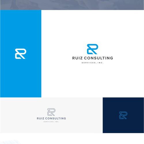 Ruiz Consulting Logo Design