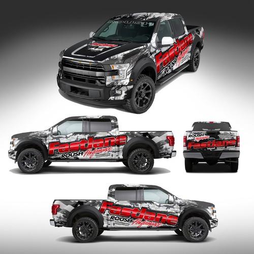 Truck Wrap Design