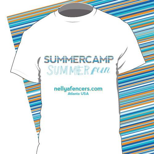 Summercap t-hirt design