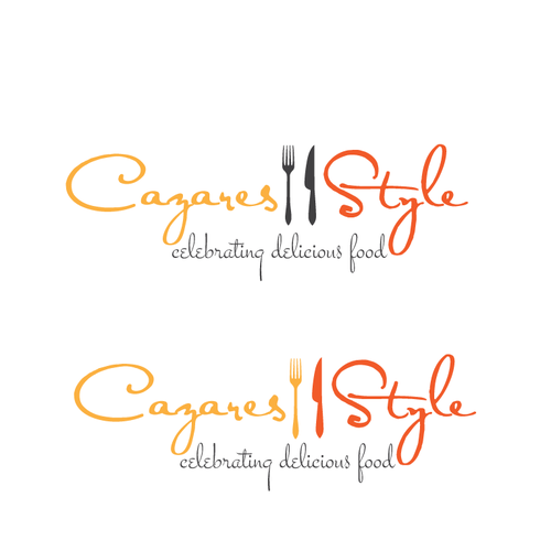 logo for prepared foods, personal chef & culinary instruction services that is simple yet captivating!