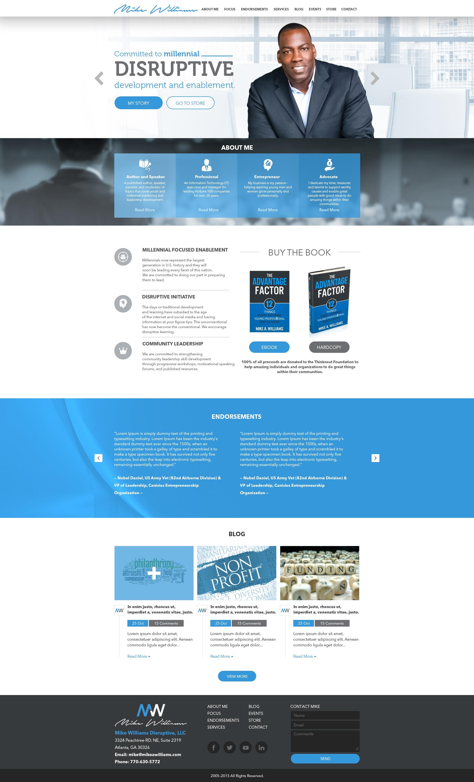 Work on Personal Website