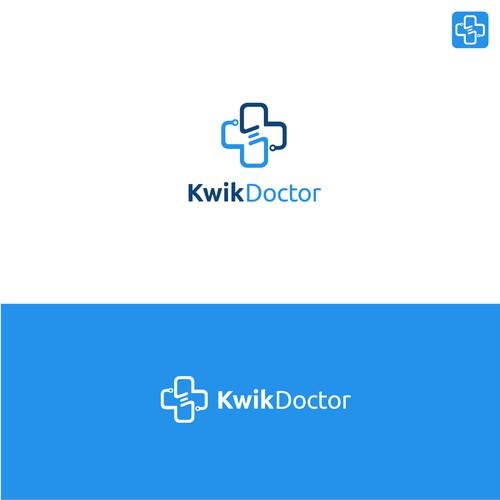 Modern Logo Design Idea of KwikDoctor
