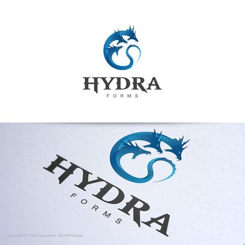 Logo concept for 'HydraForms'