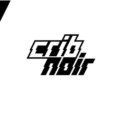 CribNoir Logo Design