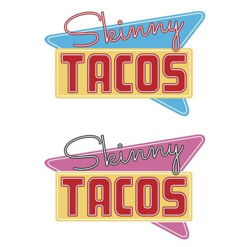 Retro Logo for California Taco Restaurant