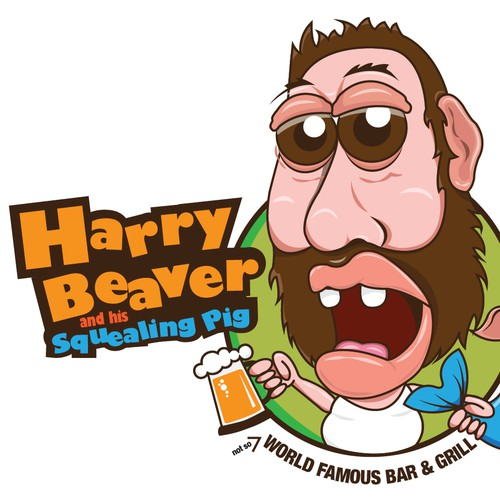 Harry Beaver and his Squealing Pig