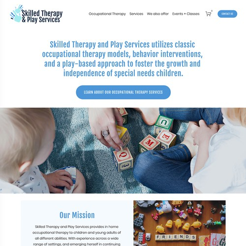 Skilled Therapy and Play Services Design