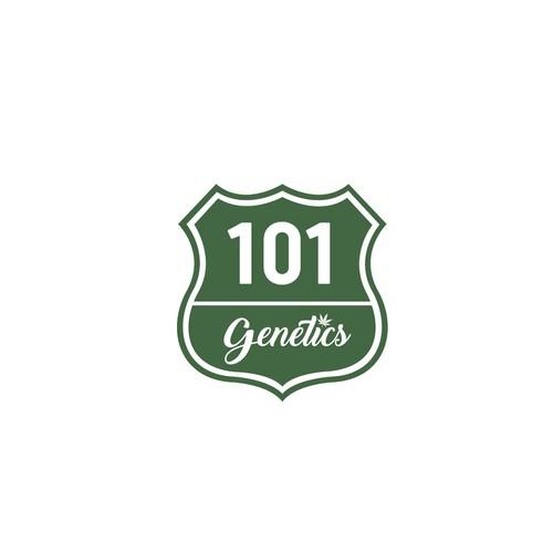 Route designs for 101 Genetics