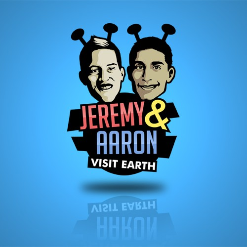 'Jeremy and Aaron Visit Earth' Podcast Needs a Logo