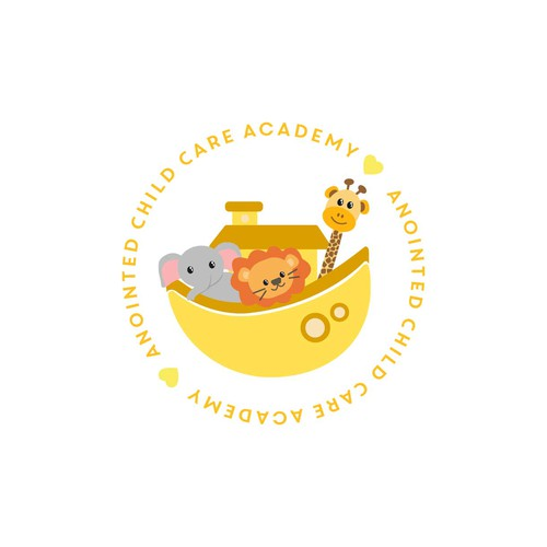 Logo design propose anointed child care academy