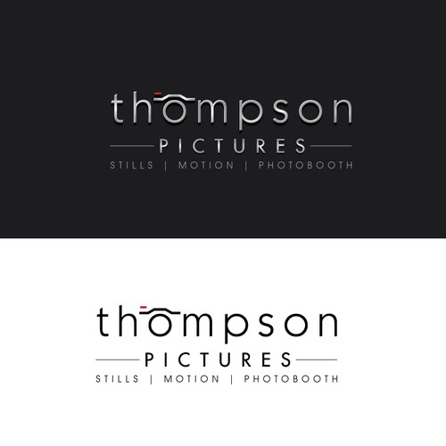 Logo design for a video, photography, and photo booth company.