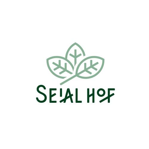 Herbal product logo