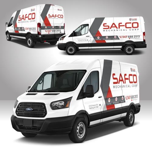 Mechanical Company Van