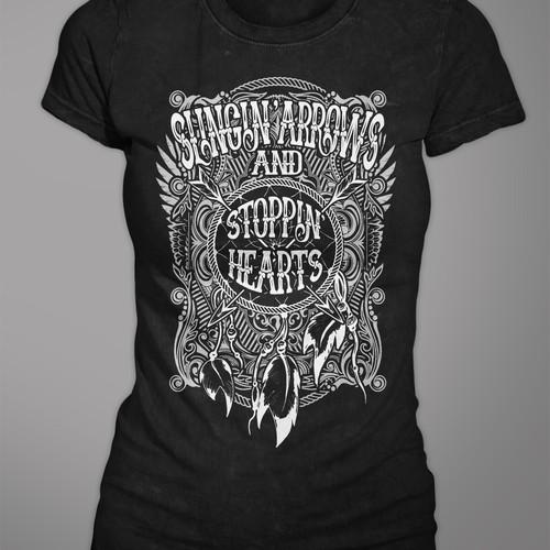 Typography-based Tshirt
