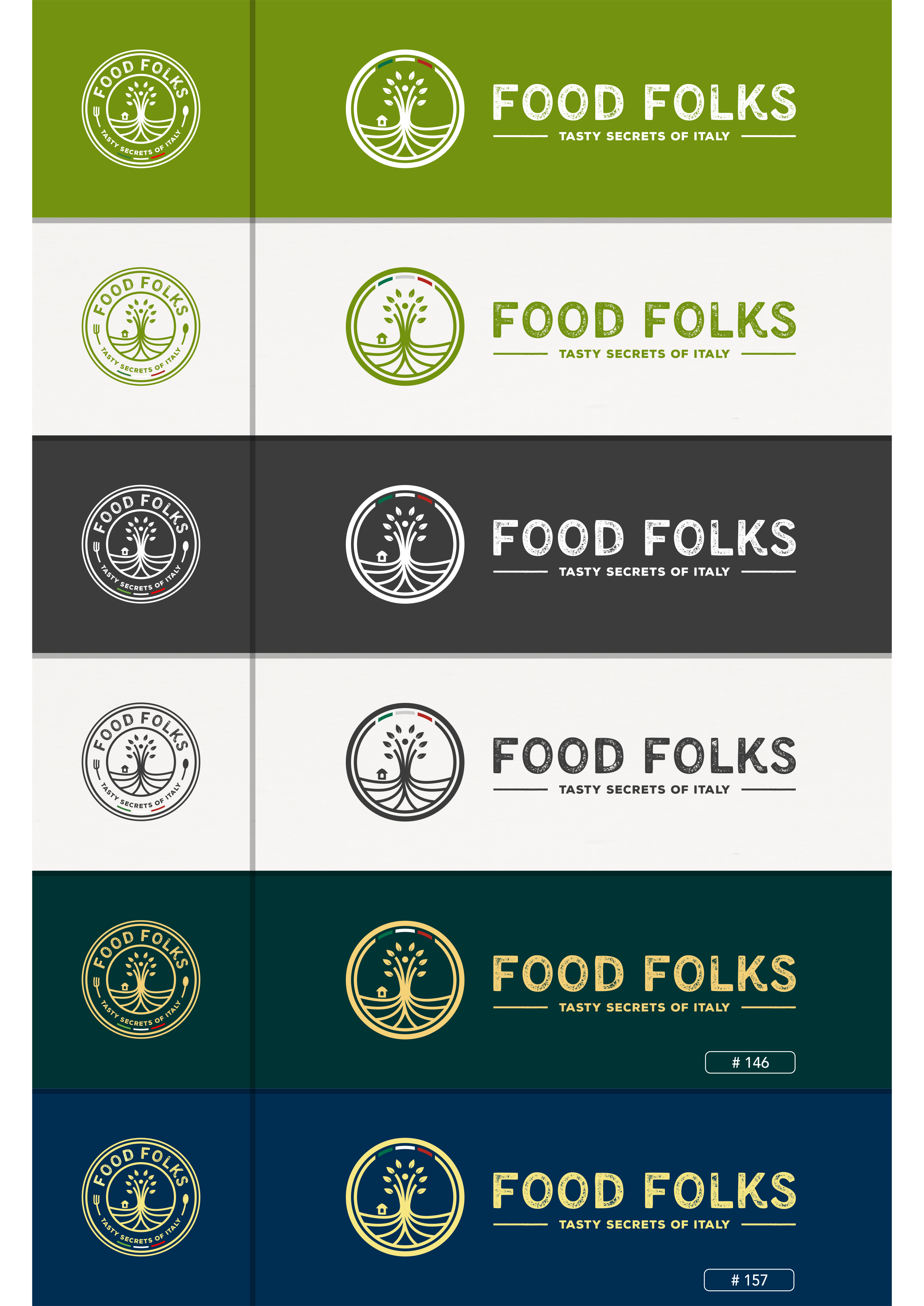Food Folks, we need a logo to promote worldwide people, places and products!