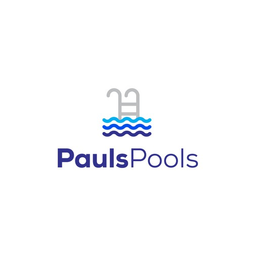 Pool cleaning logo