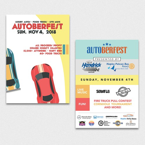 Flyer for Auto Festival