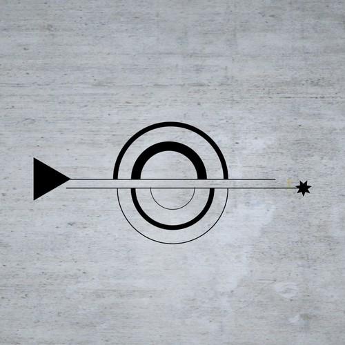 minimalist, monochromatic, symbolic logo for Silicon Valley start up