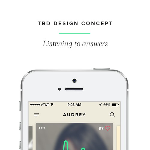Design for voice-dating app